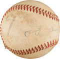 Autographs:Baseballs, 1940's Clark Griffith Single Signed Baseball, PSA/DNA EX+ 5.5....