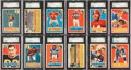 Football Cards:Sets, 1956 Topps Football High Grade Complete Set (120) - #1 on the SGC Set Registry!...