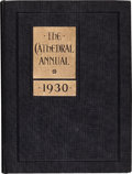 Football Collectibles:Publications, 1930 Vince Lombardi High School Sophomore Yearbook....