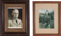 Autographs:Photos, 1940's Generals Omar Bradley and George S. Patton Signed Photographs....
