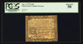 Colonial Notes:Pennsylvania, Pennsylvania April 3, 1772 2s 6d PCGS About New 50.. ...