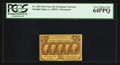 Fractional Currency:First Issue, Fr. 1281 25¢ First Issue PCGS Very Choice New 64PPQ.. ...