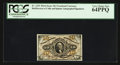 Fractional Currency:Third Issue, Fr. 1253 10¢ Third Issue PCGS Very Choice New 64PPQ.. ...