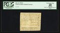 Colonial Notes:North Carolina, North Carolina July 14, 1760 £3 PCGS Apparent Extremely Fine 40.....