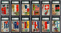 "Non-Sport Cards:Sets, 1956 Topps ""Flags of the World"" Complete Set (80) - #1 on the SGCSet Registry. . ..."