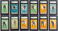 Hockey Cards:Lots, 1933/34 V304 O-Pee-Chee Hockey SGC graded Collection (83) With TwoMorenz. ...