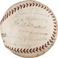 Autographs:Baseballs, 1932 Cincinnati Reds Team Signed Baseball....