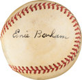 "Autographs:Baseballs, The Only Known Ernie ""Tiny"" Bonham Single Signed Baseball...."