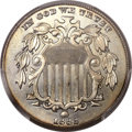 Shield Nickels, 1882 5C MS67 PCGS. CAC....