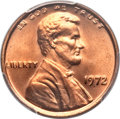 Lincoln Cents, 1972 1C Doubled Die Obverse MS67 Red PCGS. FS-101....