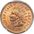 Indian Cents, 1874 1C MS65 Red PCGS....