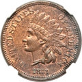 Indian Cents, 1873 1C Doubled LIBERTY, Closed 3 -- Obverse Scratched -- NGCDetails. Unc. Snow-1, FS-101....