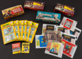 Non-Sport Cards:Lots, 1930's-70's Non-Sports Wrappers, Packs and Boxes Collection (22) -With Beatles, Etc. ...