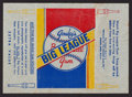 Baseball Cards:Singles (1930-1939), 1938 Goudey Baseball Wrapper. ...