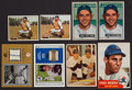 Baseball Cards:Lots, 1950 - 2002 Yogi Berra Card Collection (8) With Jersey/Seat SampleCards. ...