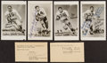 Football Collectibles:Photos, Southern Methodist University Greats Signed Memorabilia Lot of 7....