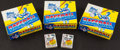 Baseball Cards:Sets, 1984 Topps Baseball Unopened Cello Boxes (3) Each With 24 Packs. ...