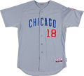 Baseball Collectibles:Uniforms, 2012 Geovany Soto Game Worn Chicago Cubs Jersey....