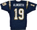 Football Collectibles:Uniforms, Lance Alworth Signed San Diego Chargers Jersey....