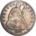 Seated Dollars, 1871 $1 MS64 PCGS. CAC....