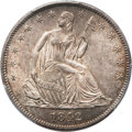Seated Half Dollars, 1842-O 50C Medium Date, Large Letters MS64 PCGS....