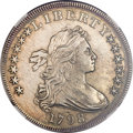 Early Dollars, 1798 $1 Large Eagle, Pointed 9, 10 Arrows -- Whizzed -- NGCDetails. AU. B-21, BB-107, R.5....
