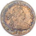 Early Dimes, 1807 10C AU58 PCGS. JR-1, R.2....