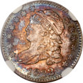 Bust Dimes, 1823/2 10C Large E's MS65 NGC. JR-3, R.2....