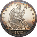 Proof Seated Half Dollars, 1875 50C PR66 PCGS....