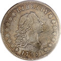 Early Half Dollars, 1795 50C 2 Leaves VF30 PCGS. CAC. O-117a, R.4....
