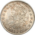 Bust Half Dollars, 1827 50C Square Base 2 MS64 PCGS. CAC. O-131, R.2....