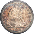 Seated Dollars, 1860 $1 MS63 PCGS....