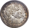 Barber Half Dollars, 1893-O 50C MS64+ PCGS....