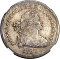 Early Dollars, 1797 $1 9x7 Stars, Large Letters XF45 NGC. B-1, BB-73, R.3....