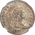 Early Dollars, 1800 $1 Dotted Date AU53 NGC. B-14, BB-194, R.3....