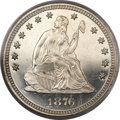 Proof Seated Quarters, 1876 25C PR67 Cameo PCGS....