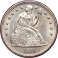 Seated Dollars, 1871 $1 MS64 PCGS....