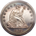 Proof Seated Quarters, 1872 25C PR66 Cameo PCGS....