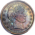 Proof Barber Quarters, 1899 25C PR67 PCGS....