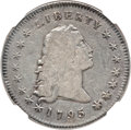 Early Dollars, 1795 $1 Flowing Hair, Two Leaves Fine 12 NGC. B-2, BB-20, R.3....