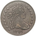 Early Dollars, 1795 $1 Draped Bust, Centered XF40 NGC. B-15, BB-52, R.2....
