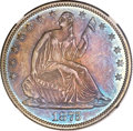 Proof Seated Half Dollars, 1875 50C PR65 NGC. CAC....