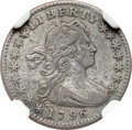 Early Half Dimes, 1796 H10C LIKERTY XF40 NGC. V-1, LM-1, R.3....