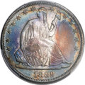 Proof Seated Half Dollars, 1889 50C PR66 PCGS....