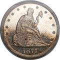 Proof Twenty Cent Pieces, 1877 20C PR64 Cameo PCGS....