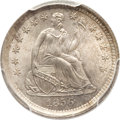 Seated Half Dimes, 1856 H10C MS66 PCGS....