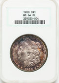 Morgan Dollars: , 1900 $1 MS64 Prooflike NGC. NGC Census: (95/30). PCGS Population(26/27). Numismedia Wsl. Price for problem free NGC/PCGS ...