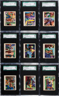 "Non-Sport Cards:Sets, 1949 R701-6 Bowman ""America Salutes the FBI"" Near Set (35/36) - #1on the SGC Set Registry. ..."