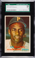 Baseball Cards:Singles (1950-1959), 1957 Topps Roberto Clemente #76 SGC 96 Mint 9 - Pop Four, NoneHigher! ...