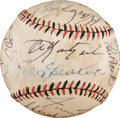 Autographs:Baseballs, 1920's to Present 3,000 Hit Club Multi-Signed Baseball with Cobb,Collins, Speaker....